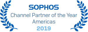 Sophos Channel Partner of the Year, Americas, 2019